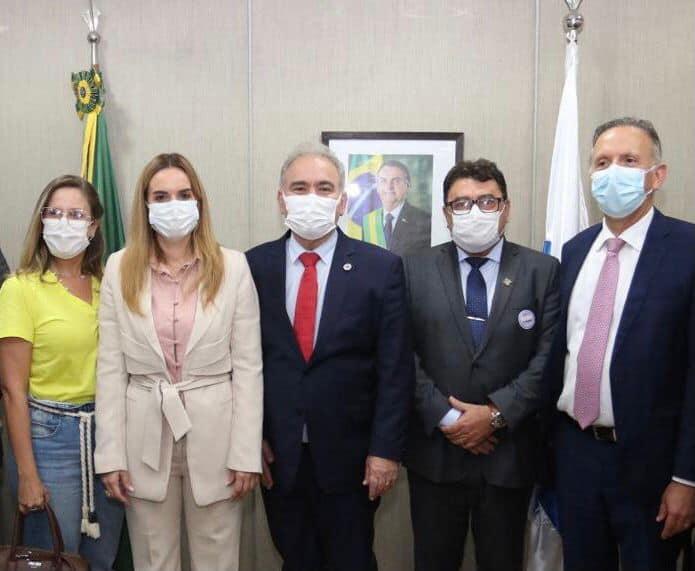 Prefeito de Soledade esteve em Brasília em busca de recursos para o município